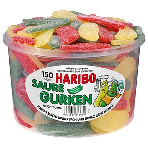 Fruchtgummis SAURE GURKEN von HARIBO