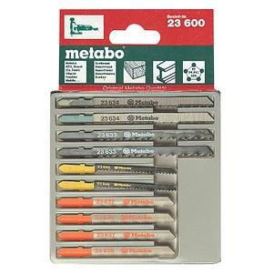metabo Stichsägeblätter-Set 10-teilig