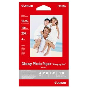 Canon Fotopapier GP-501 10,0 x 15,0 hochglänzend 200 g/qm 100 Blatt