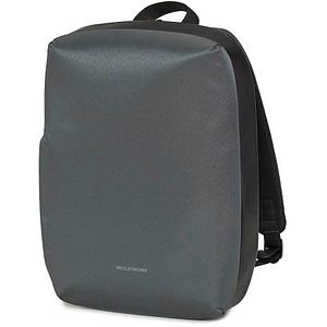 MOLESKINE Laptop-Rucksack Kunstfaser grau