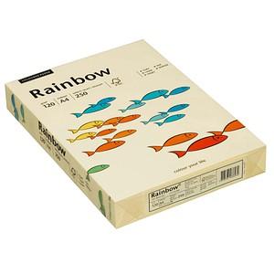 Rainbow Kopierpapier COLOURED PAPER hellgelb DIN A4 120 g/qm 250 Blatt