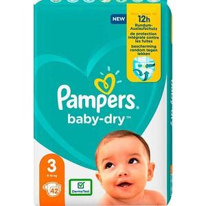 Pampers® Windeln baby-dry™ Größe Gr.3 (6-10 kg) für Babys und Kleinkinder