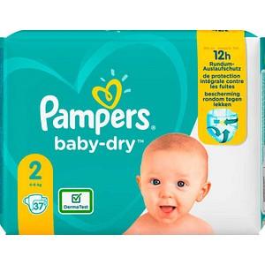 Pampers® Windeln baby-dry™ Größe Gr.2 (4-8 kg) für Babys