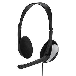 hama HS-P100 Headset schwarz 139900