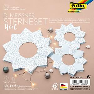 folia Faltblätter Meissner-Sterne-Set Noel