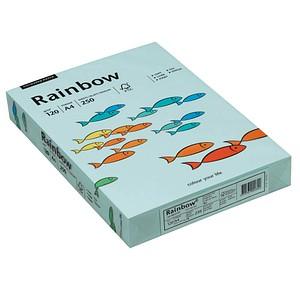 Rainbow Kopierpapier COLOURED PAPER hellblau DIN A4 120 g/qm 250 Blatt