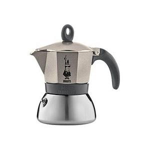 BIALETTI Moka Express 3 Induktion Espressokocher gold