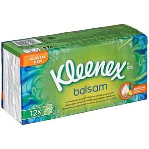 Kleenex® Taschentücher balsam 12x 9 Tücher