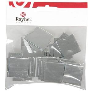 Rayher Mosaiksteine Spiegelmosaik selbstklebend 3,0 x 3,0 cm 1 Pack