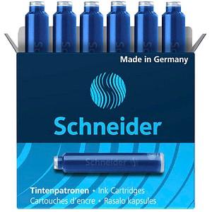 Schneider Tintenpatronen für Füller blau 6 St.