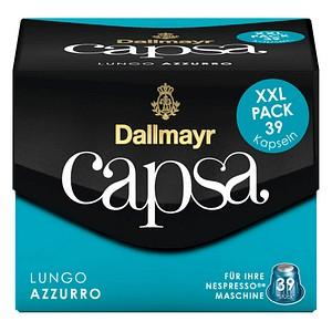 Dallmayr Kaffee Capsa Lungo Azzurro Kaffeekapseln 39 Portionen