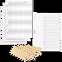 Register, Trennblätter & Einlagen