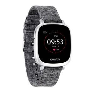 X-WATCH IVE XW FIT Smartwatch grau, silber 54038