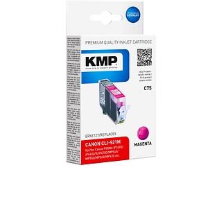 KMP C75 magenta Tintenpatrone ersetzt Canon CLI-521 M
