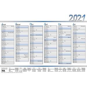 neutral 10 Tafelkalender Tisch-/Tafelkalender 2021
