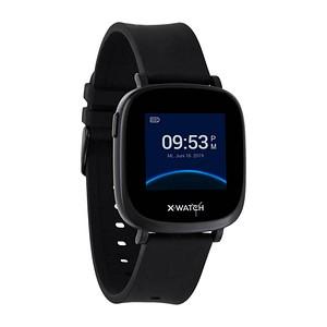 X-WATCH IVE XW FIT Smartwatch schwarz 54040