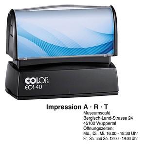COLOP Textstempel, individualisierbar EOS 40 137505