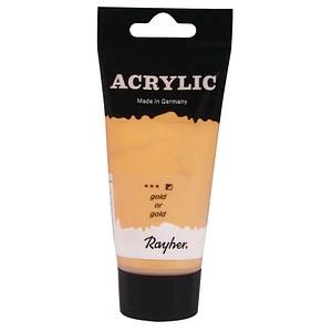 Rayher Acrylic Acrylfarben gold 75,0 ml, 1 St. 38912616