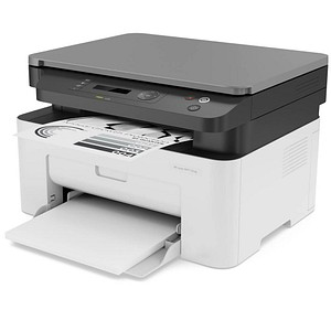 HP Laser MFP 135ag 3 in 1 Laser-Multifunktionsdrucker grau 6HU10A#B19