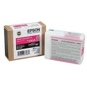 EPSON T580A vivid magenta Tintenpatrone