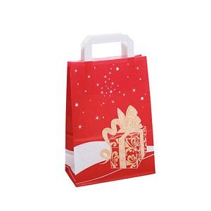 neutral 250 Geschenktaschen Weihnachtsgeschenk rot 1FTTC020037