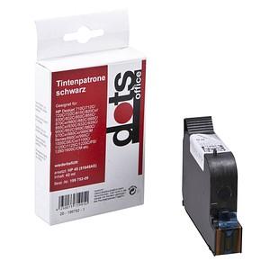 dots   schwarz Tintenpatrone ersetzt HP 45 (51645A)