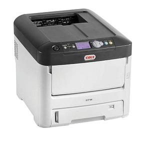OKI C712n Farb-Laserdrucker 46406103
