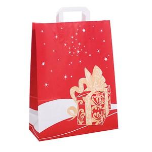 neutral 250 Geschenktaschen Weihnachtsgeschenk rot 1FTTC020038