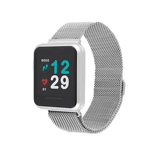 X-WATCH KETO Sun Reflect Smartwatch silber 54043