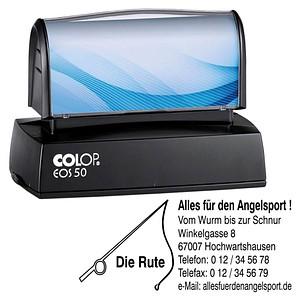COLOP Textstempel, individualisierbar EOS 50 mit Logo 137653