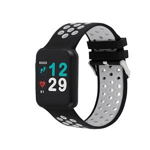 X-WATCH KETO Sun Reflect Smartwatch schwarz, grau 54044