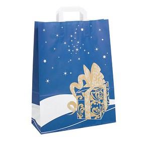 neutral 250 Geschenktaschen Weihnachtsgeschenk blau 1FTTC020040