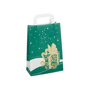 neutral 250 Geschenktaschen Weihnachtsgeschenk grün 1FTTC020042