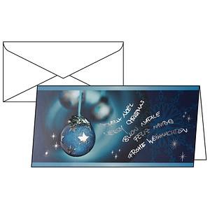 10 SIGEL Weihnachtskarten Miracle DS349
