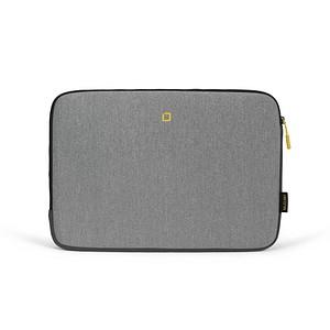 DICOTA Laptoptasche Skin FLOW Kunstfaser grau