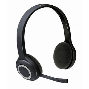 Logitech H600 Wireless-Headset schwarz