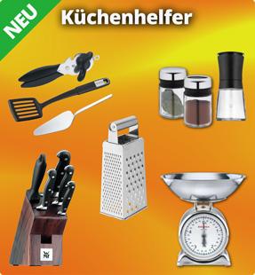 Neu im Sortiment: Küchenhelfer