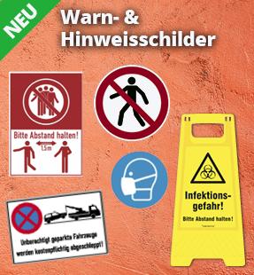Warn- & Hinweisschilder