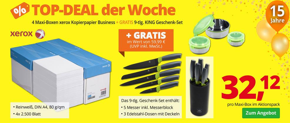 Kopierpapier + GRATIS Geschenk-Set